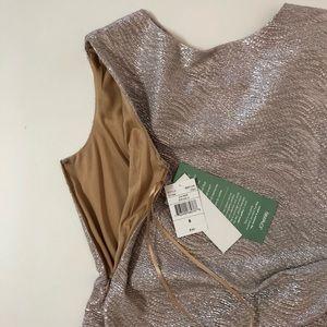 Scarlett Dresses - Scarlett Women's metallic gold sleeveless dress 8